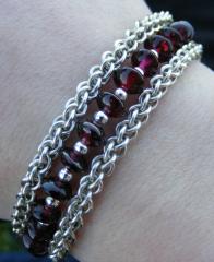 Garnet Multistrand Bracelet - Strands.png