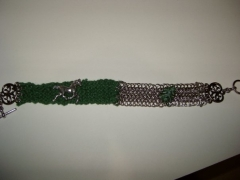 Knitted string and euro 6 in 1 with horse charm4.jpg