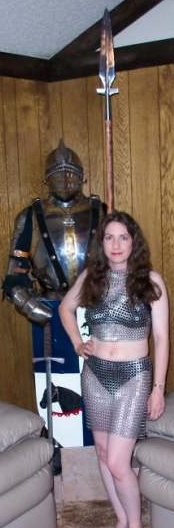 Stainless Halter & Skirt