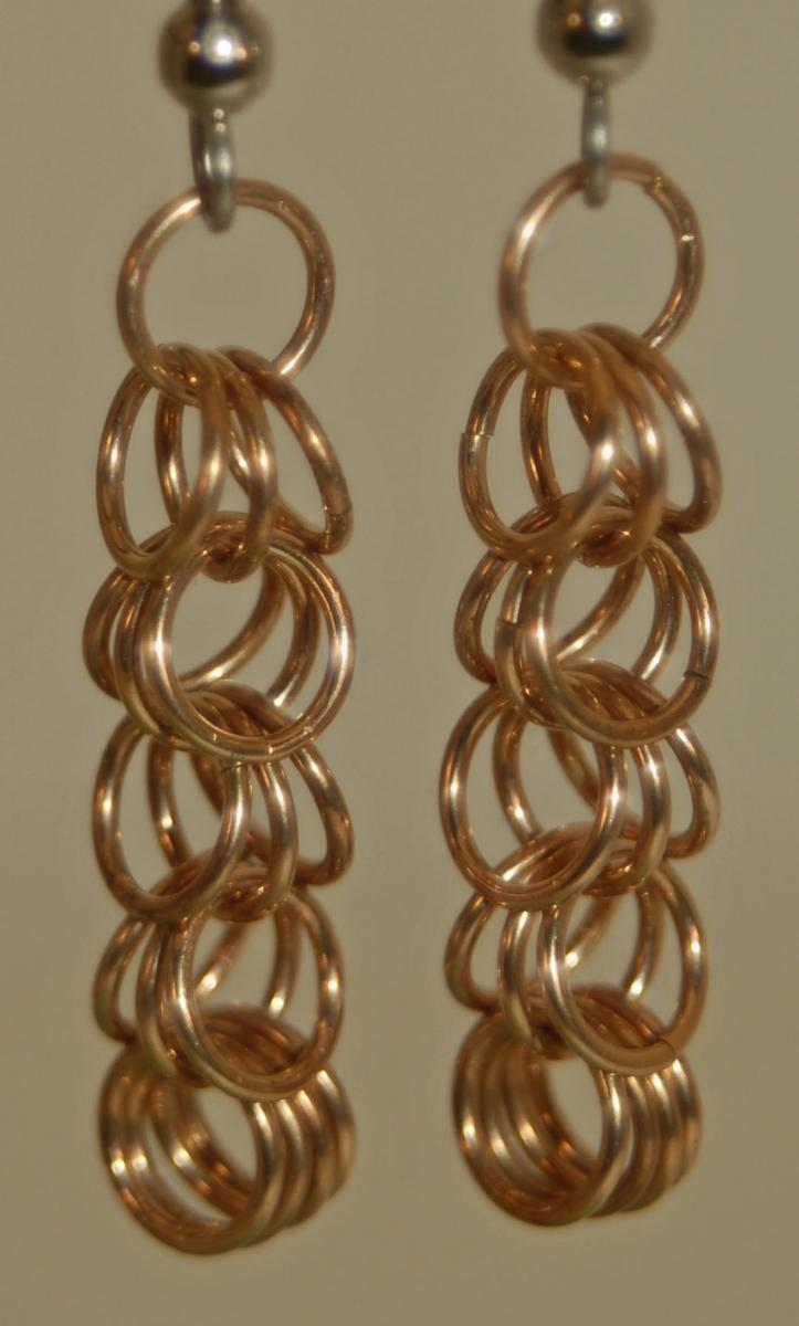 Copper Shaggy Loops Earrings Single web.jpg