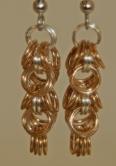 Copper Shaggy Loops w Fine Silver Center earrings web.jpg