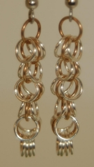 Fine Silver single shaggy loops w copper center earrings web.jpg