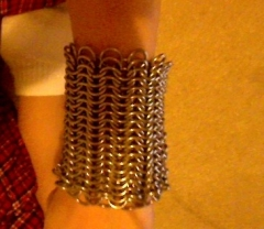 These are my spring stainless bracers
