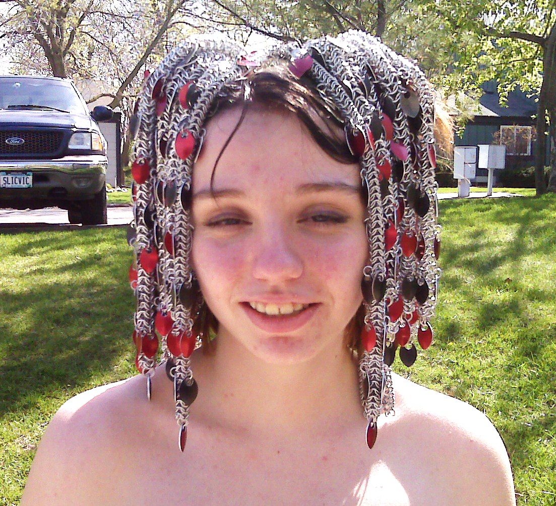 Chainmaille wig?