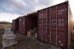 Storage Containers Full of Wire and Rings