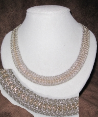 Silver Elfweave Necklace by Lawless Lady