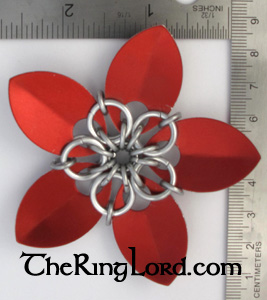 First Large AA Scale Flower