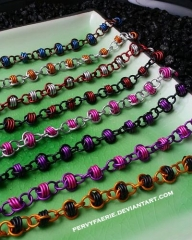 just a batch of random barrel bracelets