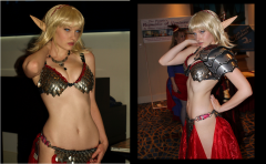 My Blood elf outfit at DragonCon2010