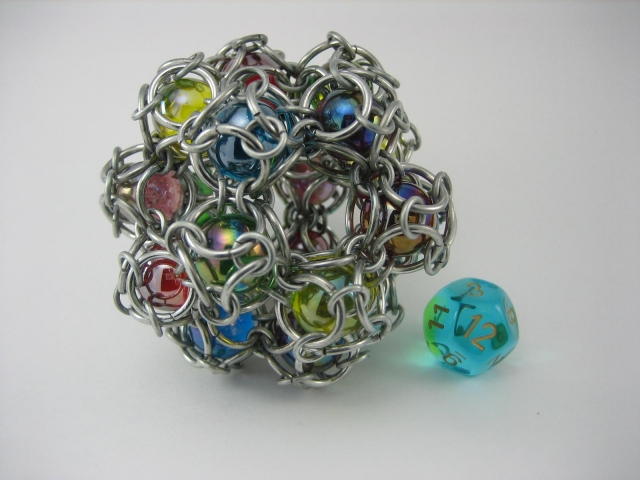 Marble Dodecahedron