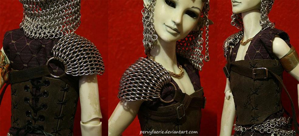 Dragonscale Doll Shoulder Piece