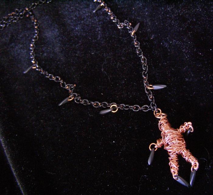 Copper VooDoo Doll