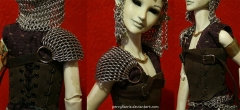 Dragonscale Doll Shoulder Piece