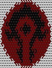 World of Warcraft - Horde symbol 21x21