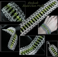 Cats Eye Beaded Maille