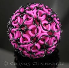 Aura glow ball in light