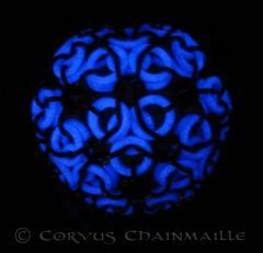 Aura glow ball in dark