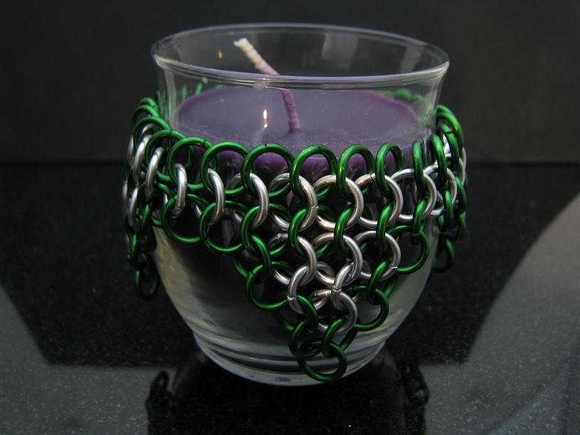 Wrapped Candle