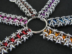 Gridlock Key Rings
