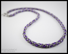 Byzantine Purple AA and Stainless