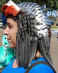Close-up on Sorceress Headdress