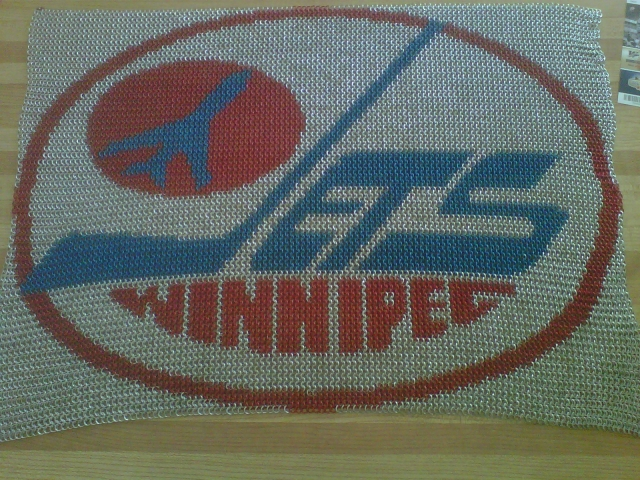 Winnipeg Jets Inlay