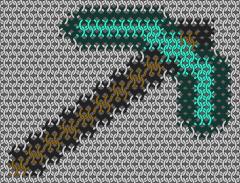 Minecraft - Diamond pick axe