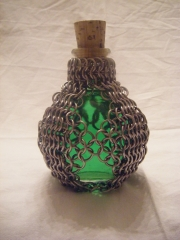 4 strapped Potion Bottle