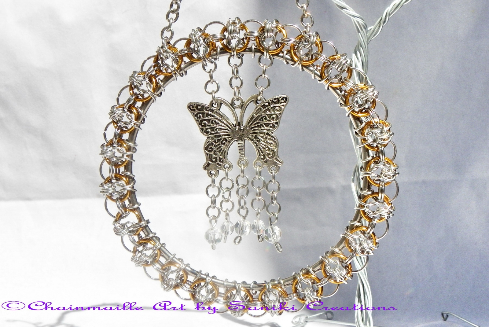 """Papillon"" Suncatcher"