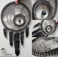"""Black Spider"" Dreamcatcher"