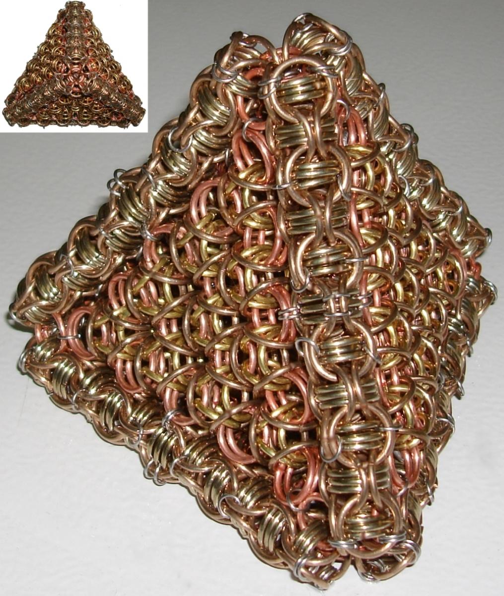 NickleSilver Bronze Pyramid By Rescyou