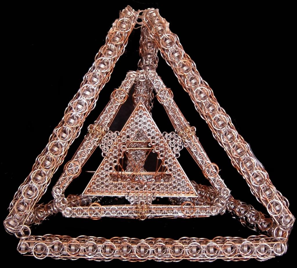 Tri Pyramid By Rescyou