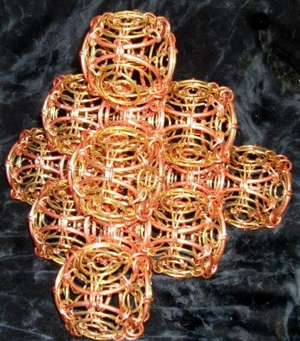 Chainmail Sculpture