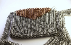 Stainless and Copper E4in1 Purse
