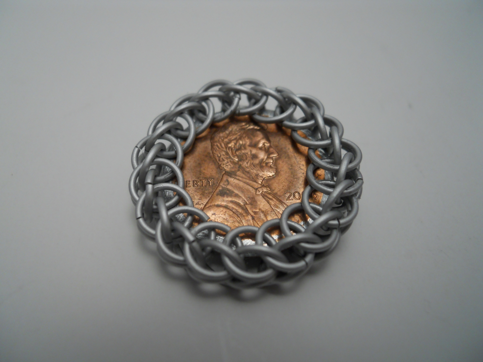 3/4 Persian wrapped penny