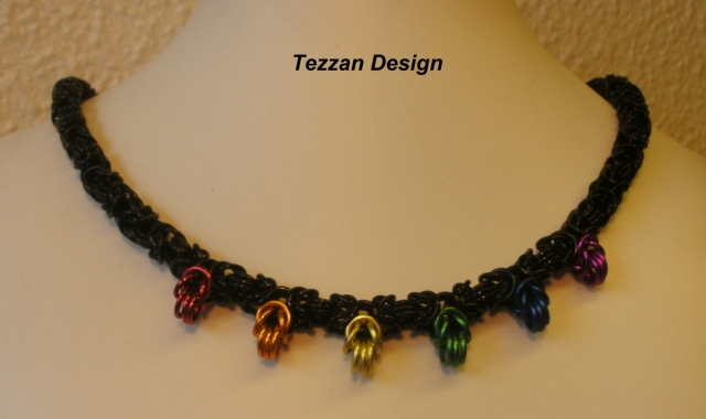Byzantine Crown Necklace