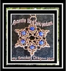 Star of David pendant.