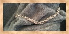 Silver Byzantine variant necklace