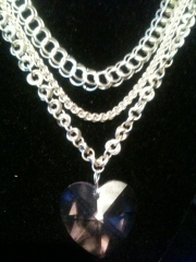 Assorted Silver Necklaces