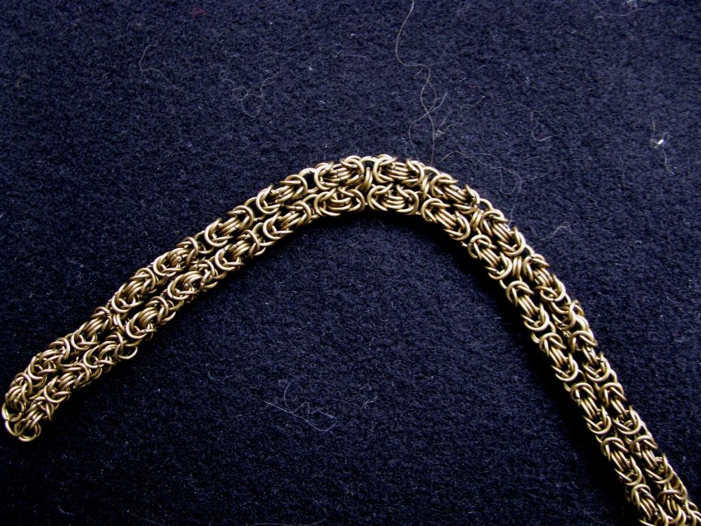 The Byzantine double-weave (bronze)