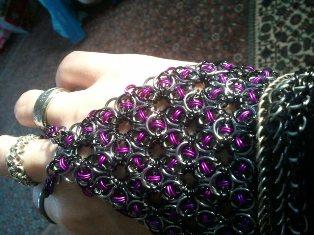 Celtic Rose Web Hand Flower
