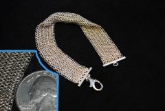 Tiny Silver Euro 4-1 Bracelet