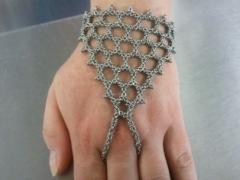 Byzantine Web Hand Flower