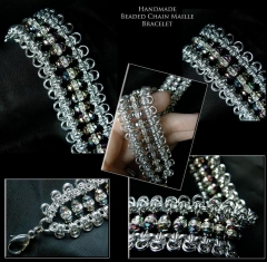 Beaded Bling Maille