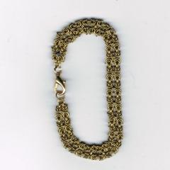Double byzantine bracelet