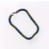 Bracelet, niobium, double chain (2)