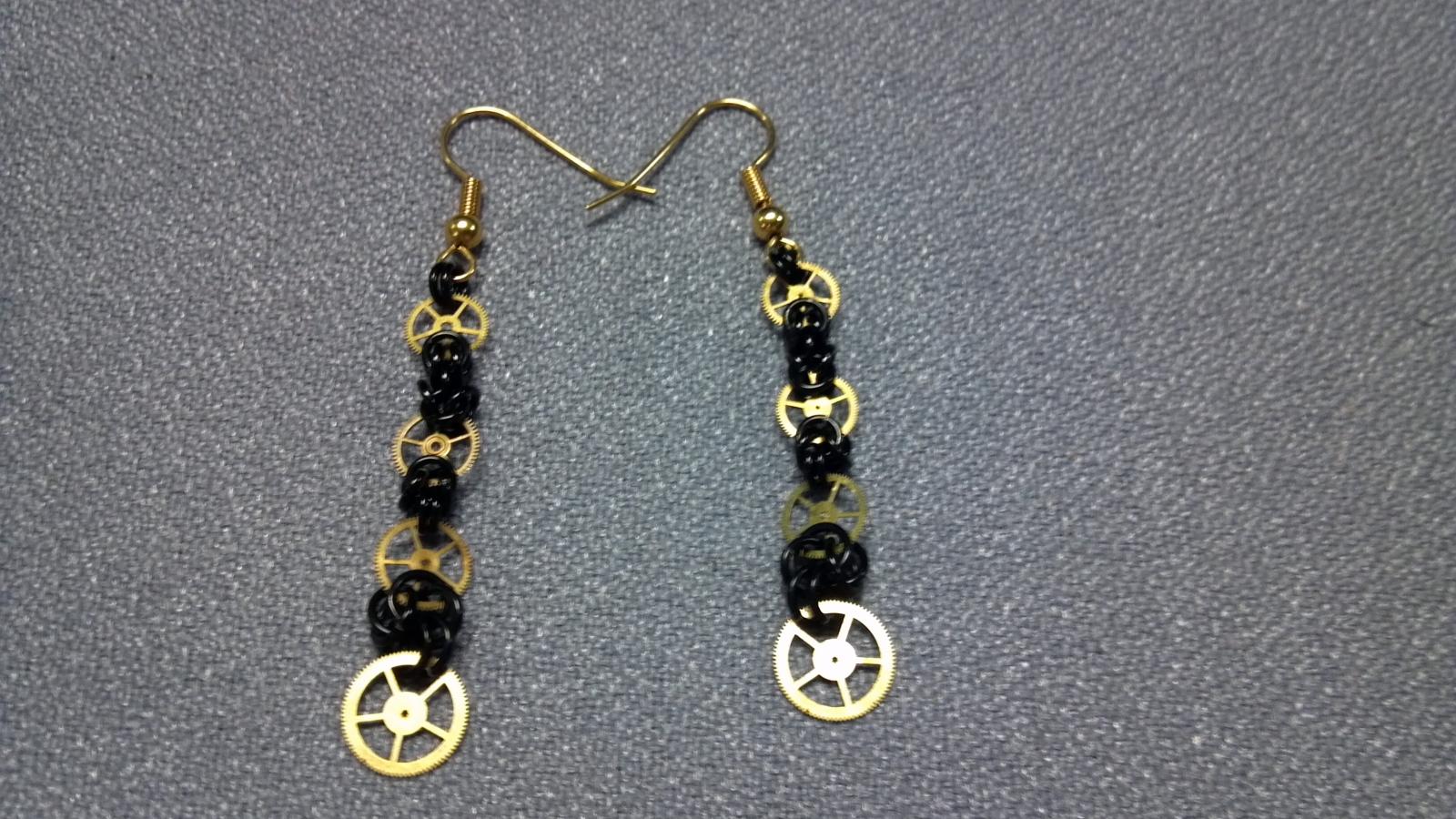 Pseudosteampunk Earrings