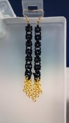 Simple 3 in long earrings