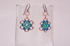 Japanese Flower Earrings 2