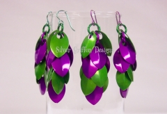 Cicadas Scalemaille earrings